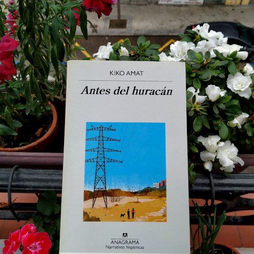 Portada de «Antes del huracán», de Kiko Amat. Ed. Anagrama, 2018. Colección «Narrativas hispánicas», v.606