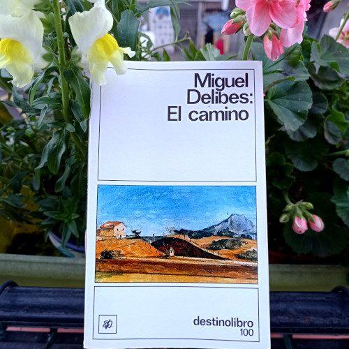 Portada de «El camino», de Miguel Delibes. Ed. Destino. 21ª edición en Colección Destinolibro, v.100.