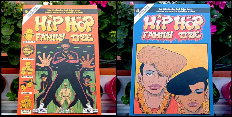 Hip Hop Family Tree vols. 3 y 4