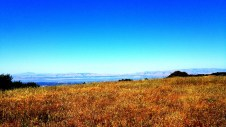 On the 5-mile section, you could see the San Francisco Bay
