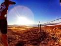 "Me taking ""Sunday sunrise..."" [still from my GoPro]"