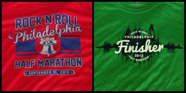 Event and Finisher shirts...in sweet colors!