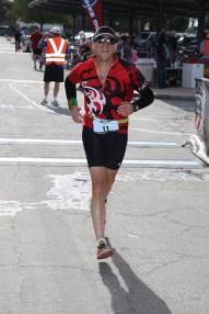 DONE! (looks like I kept running through the finish...
