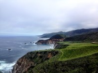 View from Hurricane Point - Bixby Bridge in the distance.