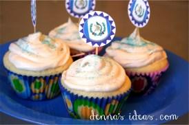 15 de Septiembre, Guatemalan Indepdendence Day cupcakes