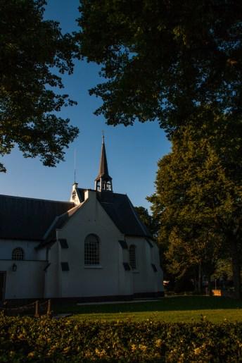 church-at-dusk