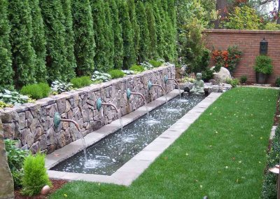 Residential Landscaping Water Feature