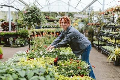 Employee at Lake Oswego Garden Center