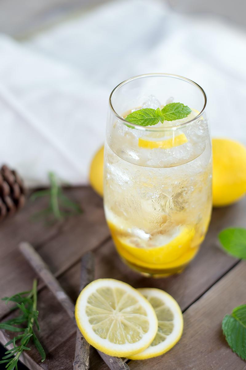 fresh rosemary lemonade
