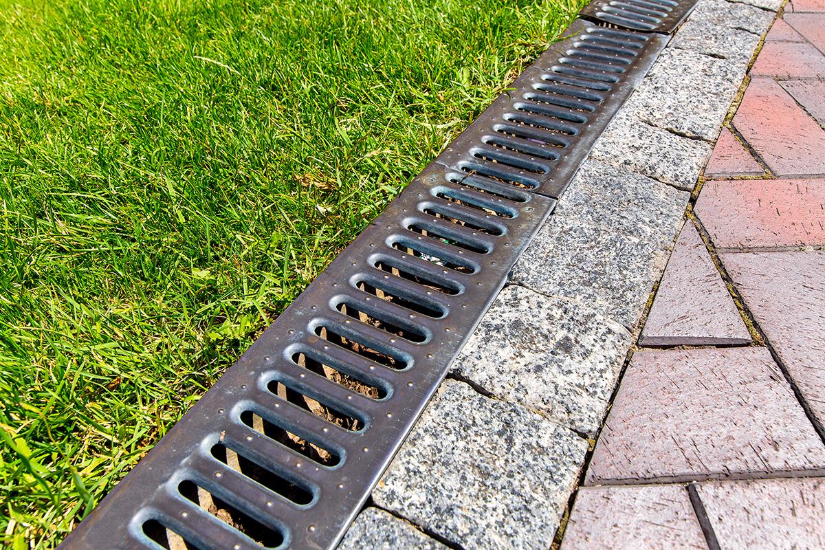 yard drainage system