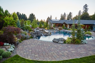 gorgeous residential landscape dream home