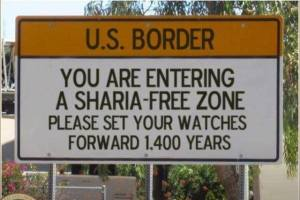 Shari'ah Law is counter-productive to The Constitution...