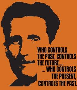 """George Orwell """"1984""""..."""