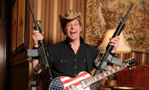 Ted Nugent Guitar and Guns... Freedom!