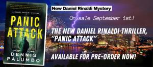 "Daniel Rinaldi Mystery ""Panic Attack"" #6"