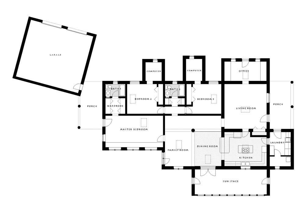 Rinehart Solar Adobe Residence