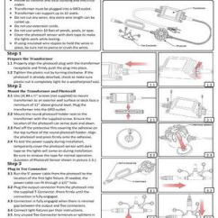 12 Volt Wiring Diagram For Garden Lights Ford Starter Solenoid Outdoor Low Voltage Lighting And Solar Solutions Install Guide