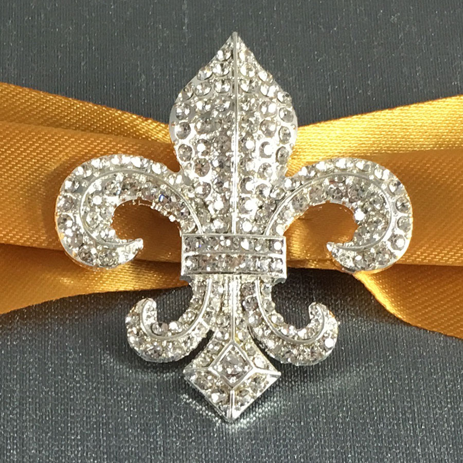 Fleur De Lis Wedding Invitation Creation With Charcoal