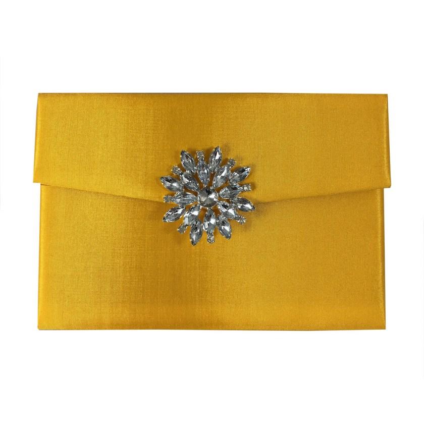 Yellow Wedding Invitation Envelope