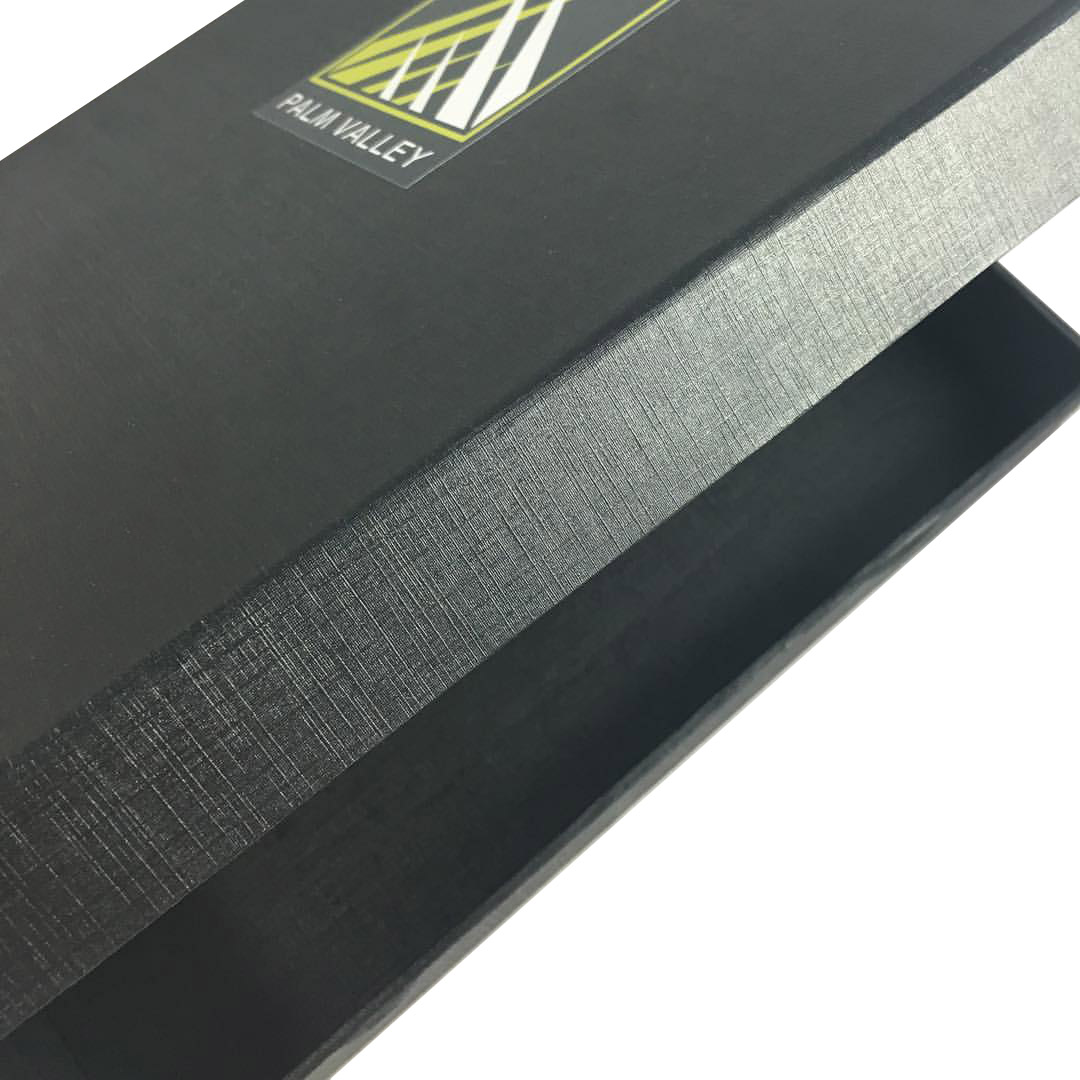 Black Highend Packaging Box With Personalised Logo