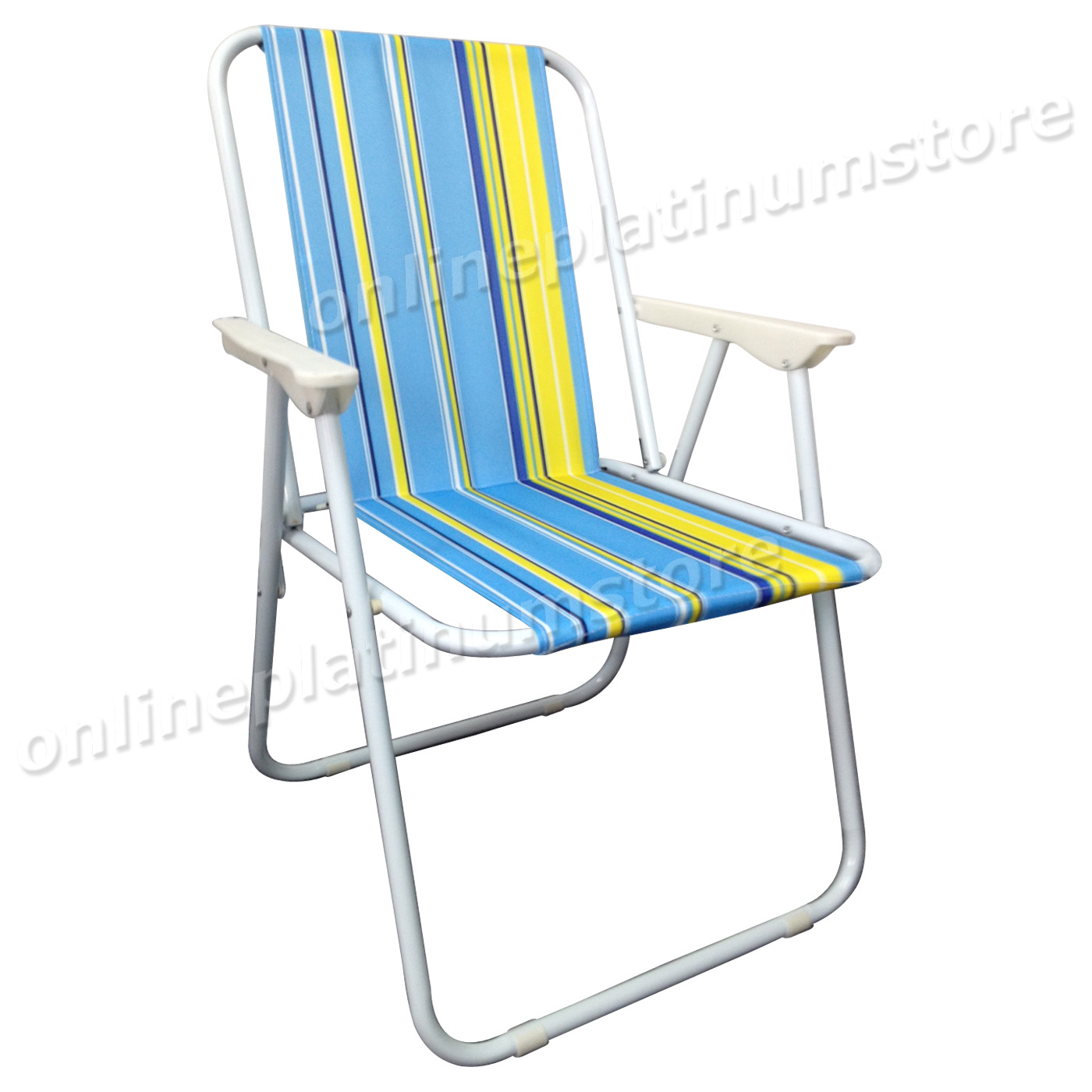 Portable Beach Chair Set Of 2 X Lightweight Portable Outdoor Garden Camping