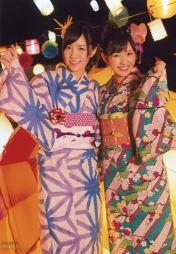 Mayu with Jurina Matsui in Okinawa festival!