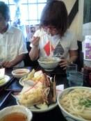 slurping those noodles