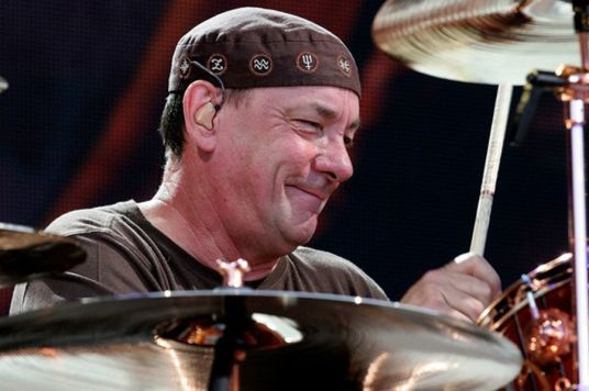 neil peart drumming