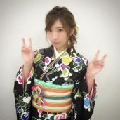 iwasa misaki dark kimono1