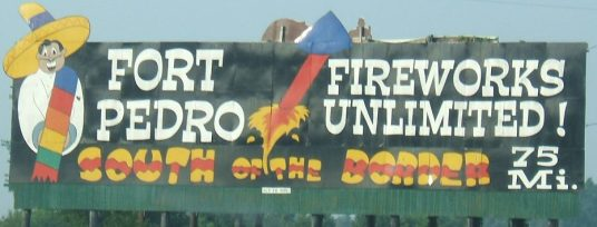 sob South_of_the_Border_sign_75_-_Fort_Pedro_Fireworks_Unlimited