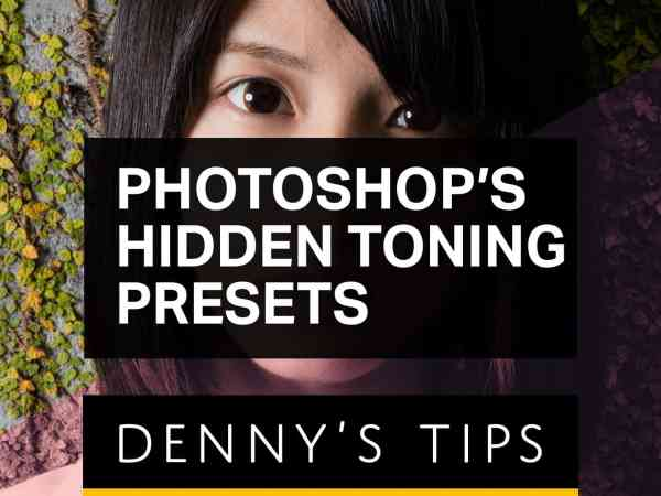 Photoshop's Hidden Toning Presets