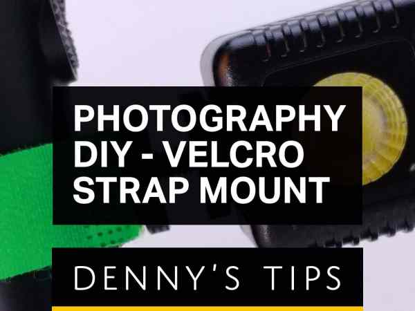 Photography DIY - Velcro Strap Mount