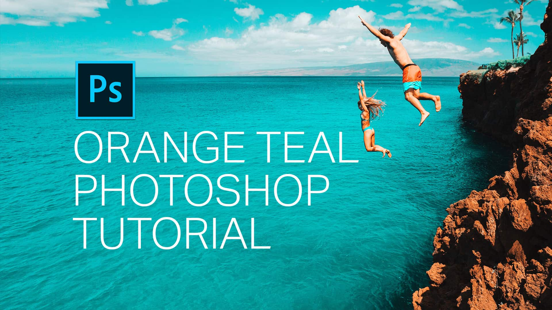 Orange Teal Photoshop Tutorial  Dennys Tips