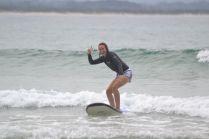 Surfen Byron Bay Australien