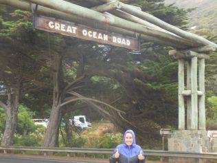 Great Ocean Road Schild