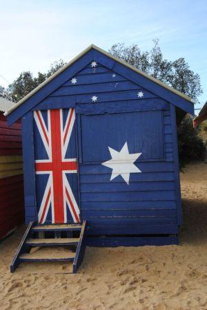 Australien Strandhaus Brighton Beach Melbourne