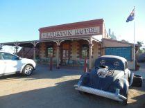 Das beruehmte Silverton Hotel aus den Mad Max Filmen