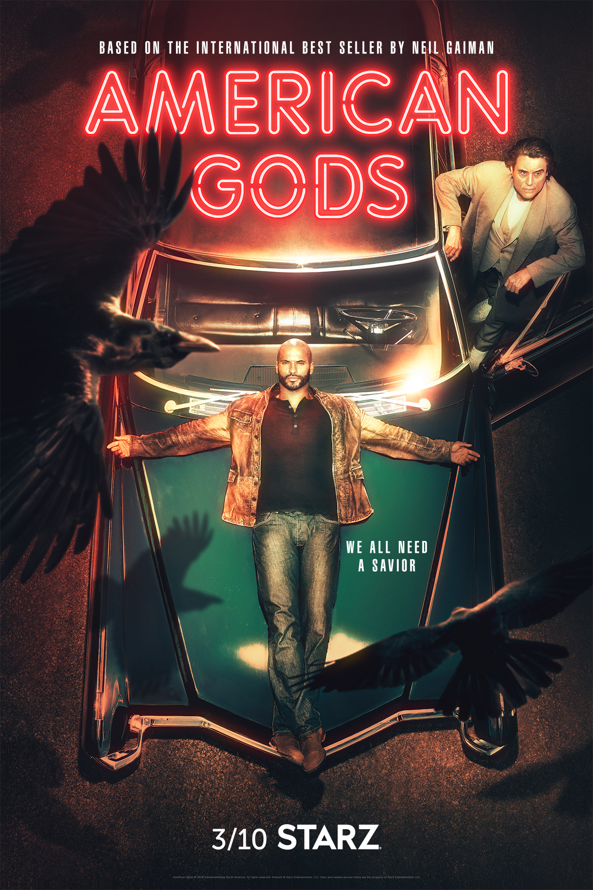 American Gods Season 1 Streaming : american, season, streaming, American, Season, Release, Date,, Episode, Guide,, Trailer,, Cast,, Story, Details,