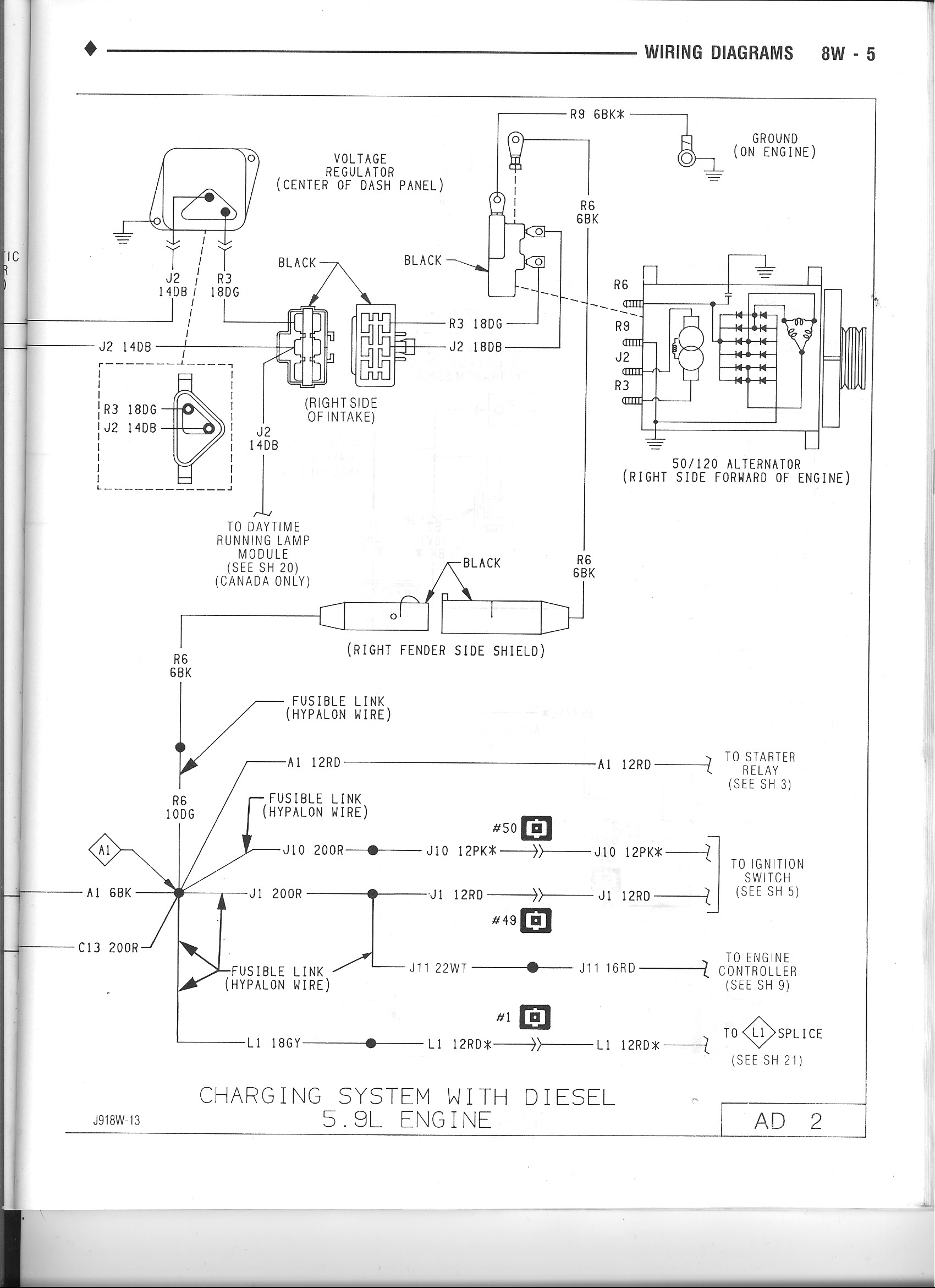 hight resolution of dodge ram alternator wiring wiring diagram data name 97 dodge ram alternator wiring dodge ram alternator