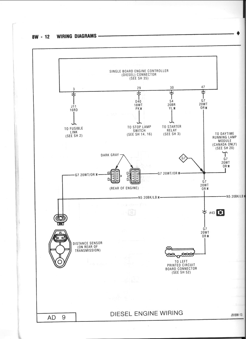 medium resolution of index of dodge ctd 1991 5 wiring diagrams basic electrical schematic diagrams starter wiring diagram