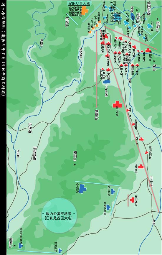 図 関ヶ原 の 戦い 布陣
