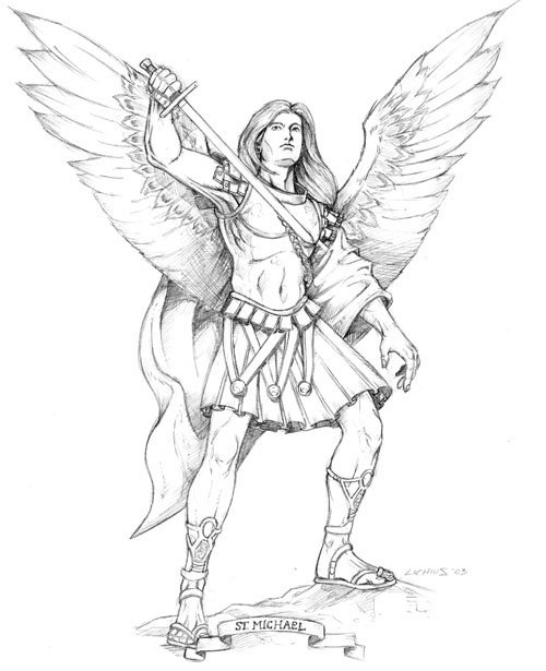 1000+ images about Archangel Tattoos on Pinterest