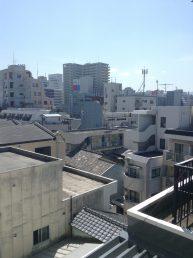 Fukuoka sur les toits