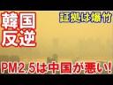 【韓国】PM2.5の証拠をつかんだ!爆竹が全ての原因だ「あやまれ中国!」の画像