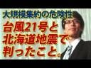 【竹田恒泰】台風21号と北海道地震で露わになった大規模集約型のリスクの画像