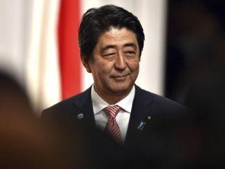 日本の安倍内閣総理大臣