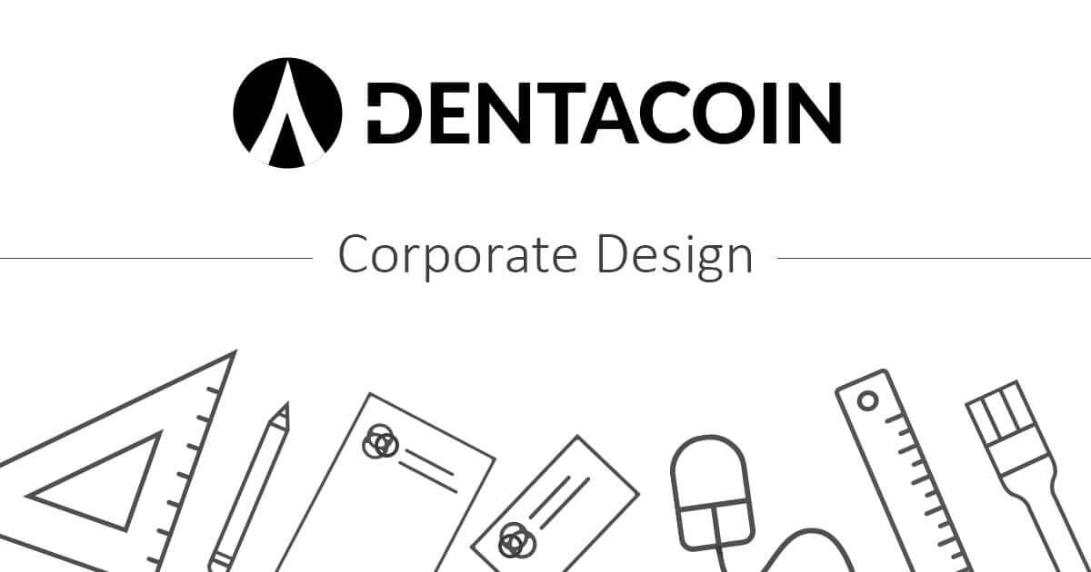 Dentacoin Corporate Design Manual: One-line Logo Usage