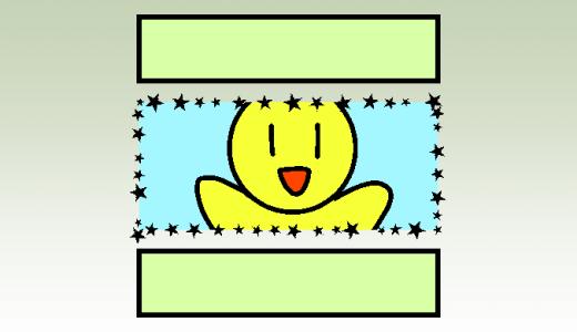 【クリスタ】実線以外の特殊なコマ枠を作成する方法!!(プリセット登録不要!)