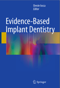 evidence-based-implant-dentistry