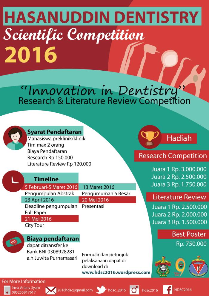 Hasanuddin Dentistry Scientific Competition